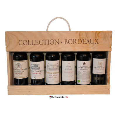 Bordeaux coffret 6 flessen 37.5cl