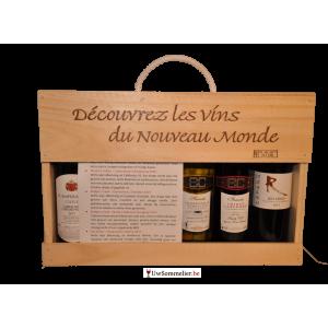Wijnbox: Wereldwijnen 6x25cl